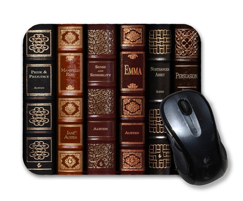 Jane Austen Literary Mouse Pad