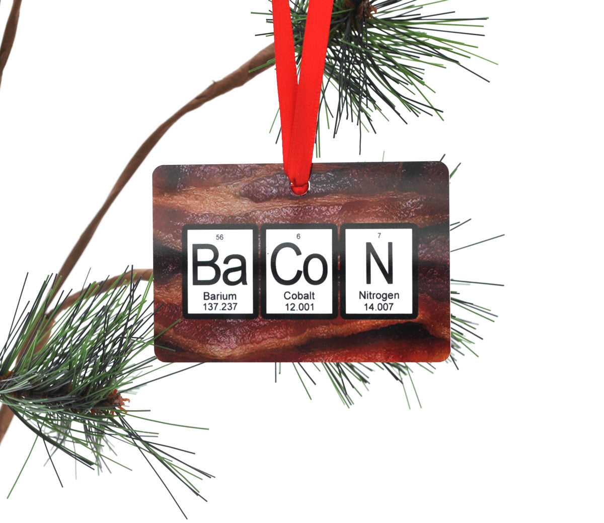 Bacon periodic table christmas ornament neurons not included bacon periodic table christmas ornament gamestrikefo Gallery
