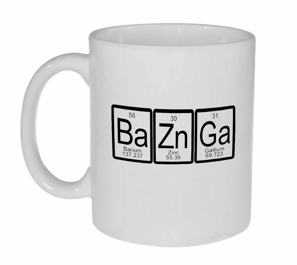 Bazinga Periodic Table Coffee or Tea Mug