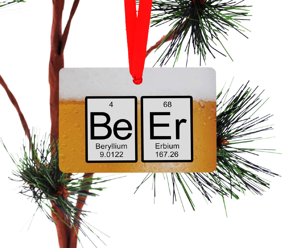 Beer periodic Table Ornament