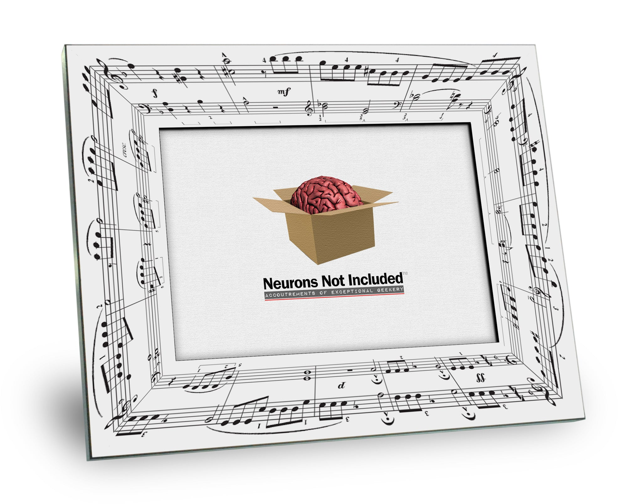 5Th Symphony beethoven's 5th symphony picture frame – neurons not included™