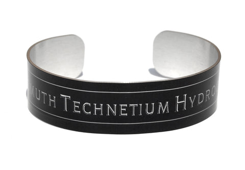 Bitch Aluminium Geekery Cuff Jewelry