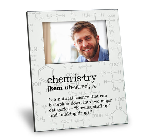 Chemistry Definition Picture Frame