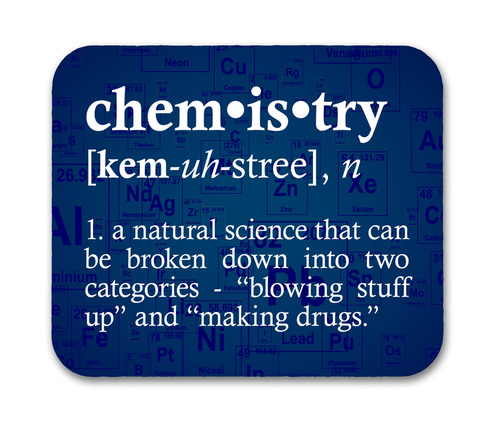 Chemistry Definition Mouse Pad