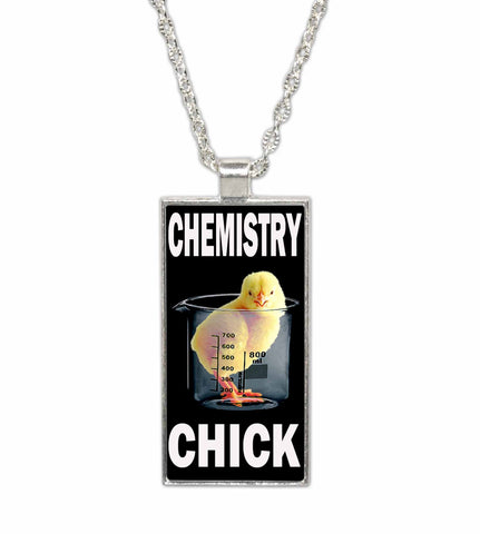 Chemistry Chick-  Pendant Necklace