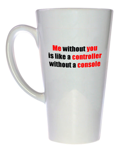 Controller without Console Coffee or Tea Mug, Latte Size