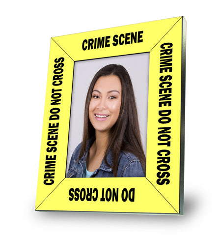 Crime Scene Tape Picture Frame