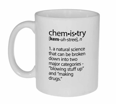 Chemistry Definition Coffee or Tea Mug