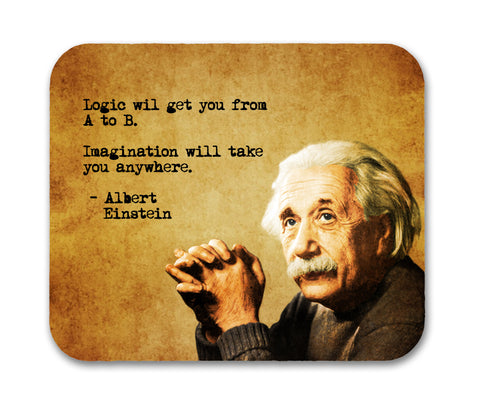 Albert Einstein  Mouse Pad