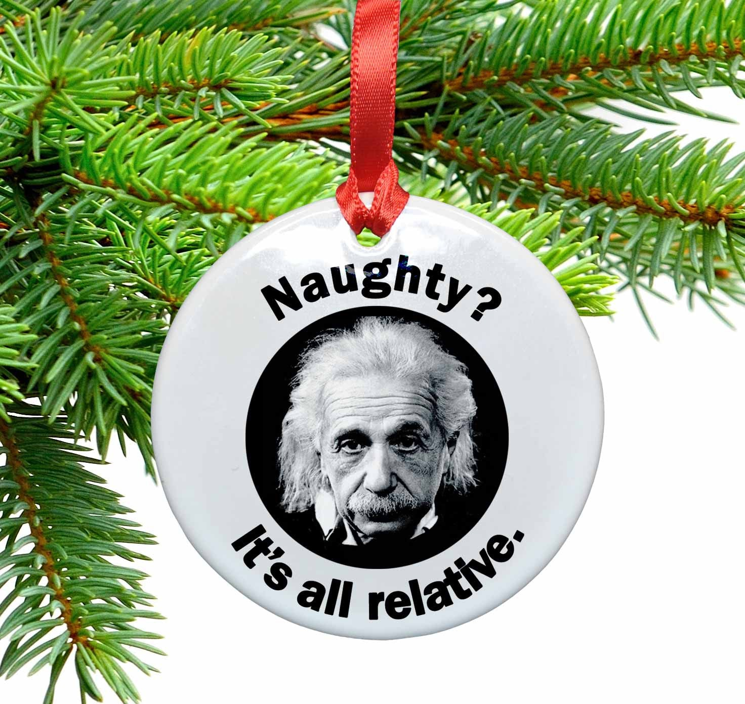 Geek Christmas Ornaments.Holiday Ornaments Neurons Not Included