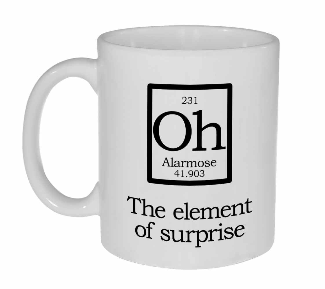 Element of surprise mug oh fake periodic table chemistry elements element of surprise mug oh fake periodic table chemistry elements urtaz Gallery