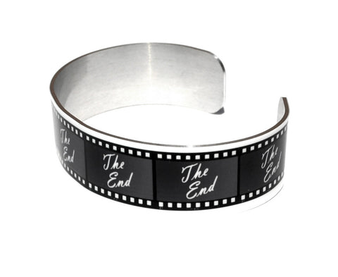 Movie Film Aluminum Geekery Cuff Jewelry