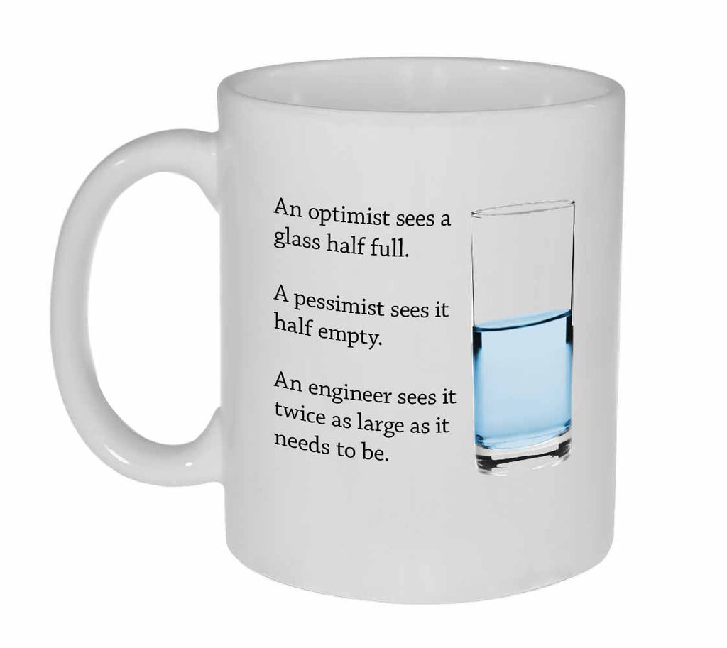 Engineer World View Coffee or Tea Mug