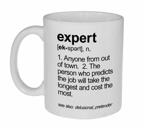 Expert Definition Coffee or Tea Mug