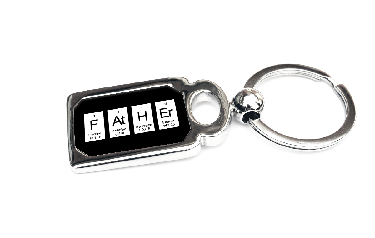 Father keyring periodic table of elements spelling father father keyring periodic table of elements spelling father urtaz Gallery