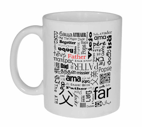 Father in Many Languages Coffee or Tea Mug