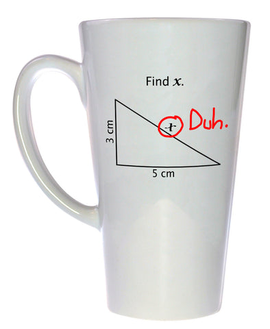 Find X Coffee or Tea Mug, Latte Size