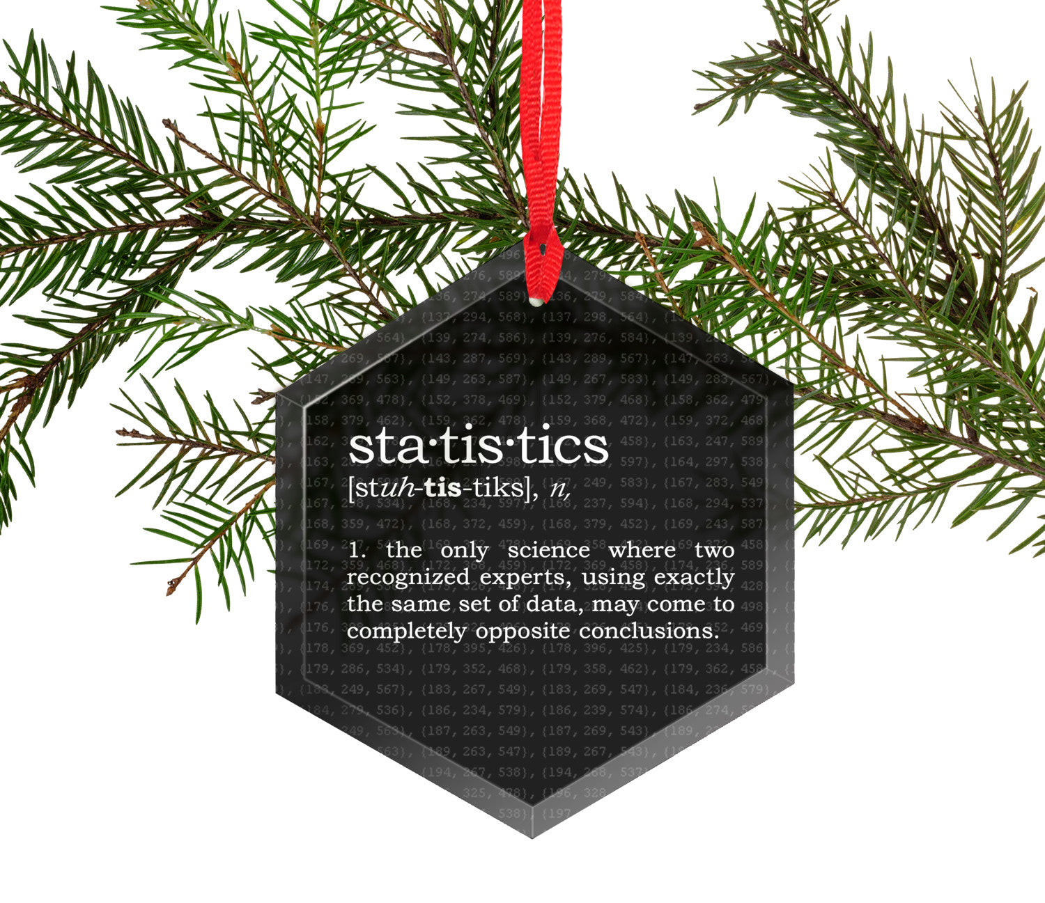 statistics definition funny glass christmas ornament - What Is The Definition Of Christmas