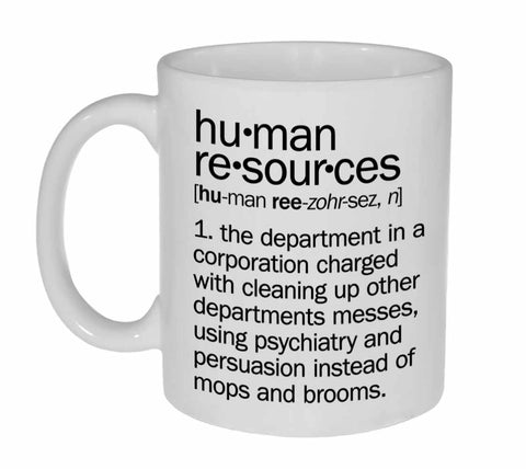 Human Resources Definition Coffee or Tea Mug