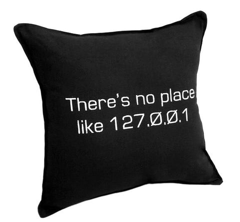 No place like home IP address Pillow