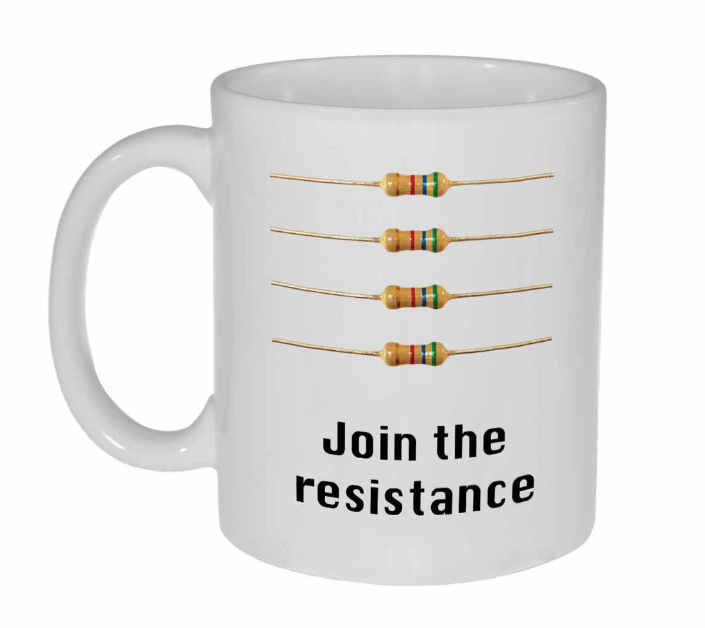 Computer Resistors- Coffee or Tea Mug