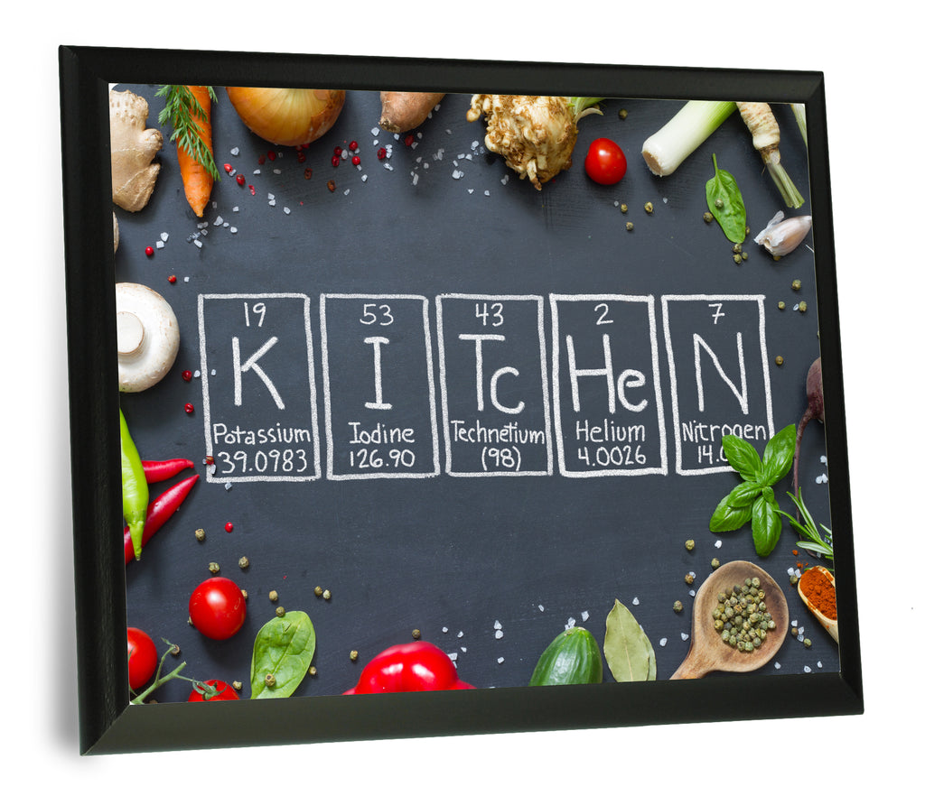 Chalkboard Image Kitchen Periodic Table of Elements Wall Plaque