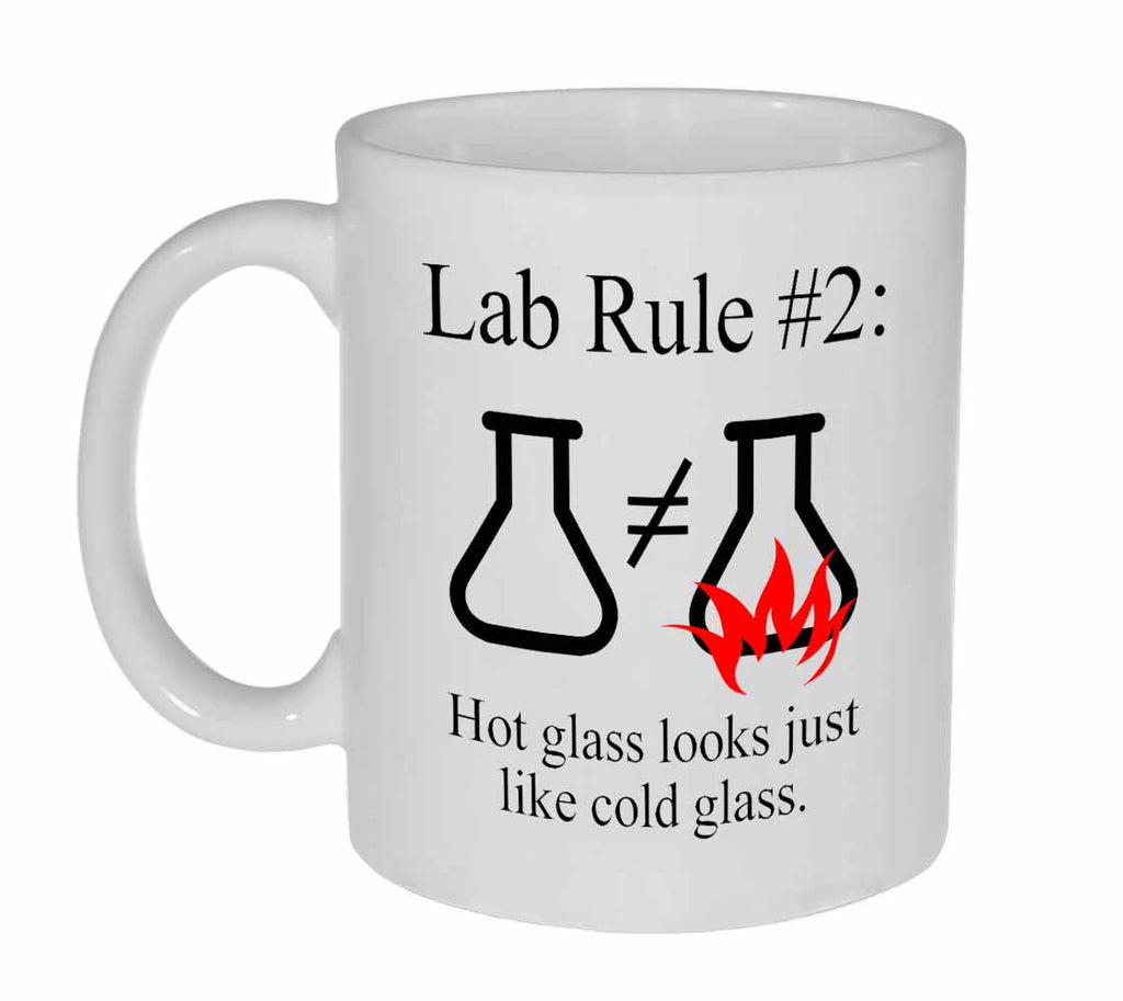 Lab Rule #2 Funny Science Coffee or Tea Mug