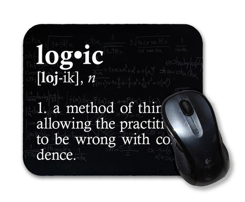 Logic Definition Mouse Pad