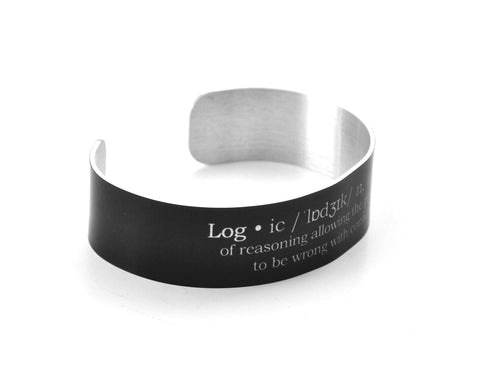 Definition of Logic Aluminum Geek Bracelet