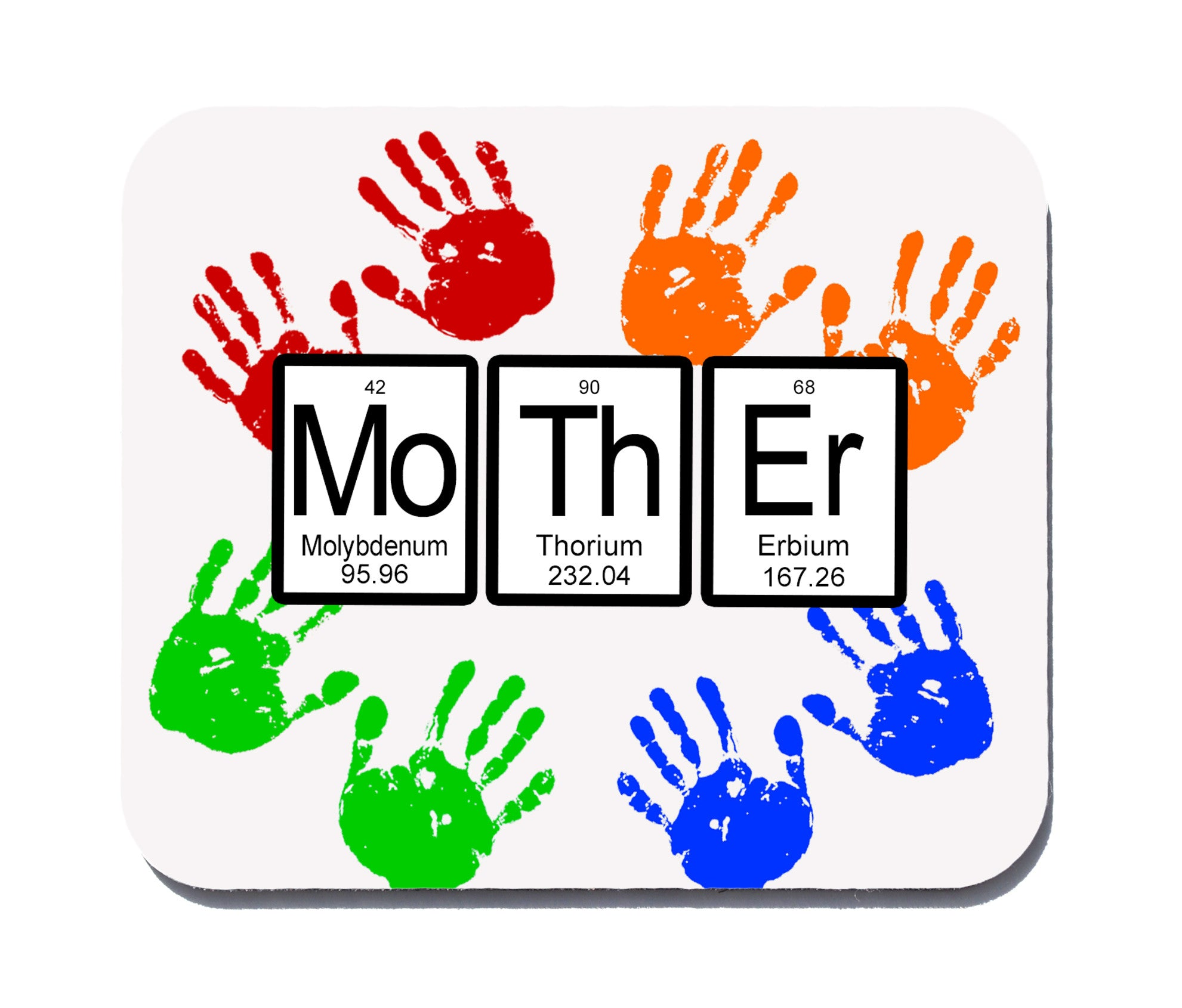 Mother periodic table of elements mothers day gift mouse pad mother periodic table of elements mouse pad urtaz Images