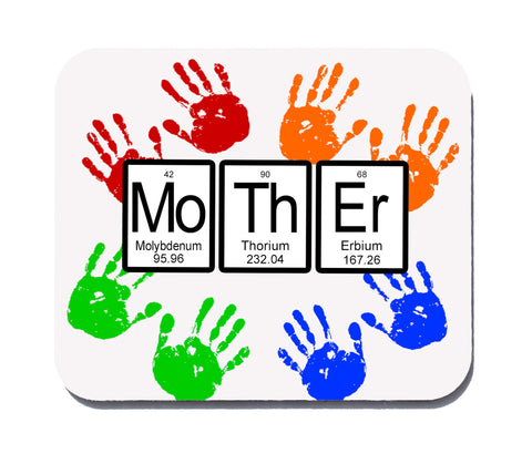 Mother Periodic Table of Elements Mouse Pad