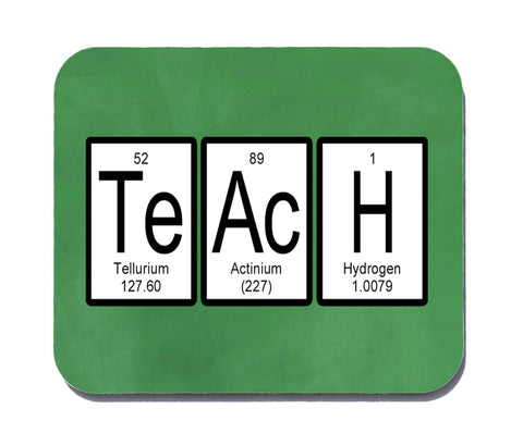 Teach Periodic Table of Elements Mouse Pad