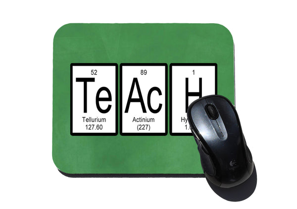 Teach Periodic Table of Elements Mouse Pad for Science Teachers