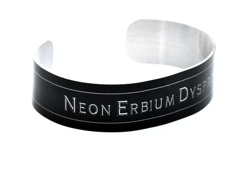 Nerdy Elements Aluminum Geekery Cuff Jewelry