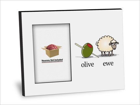 Olive Ewe (I Love You) Picture Frame