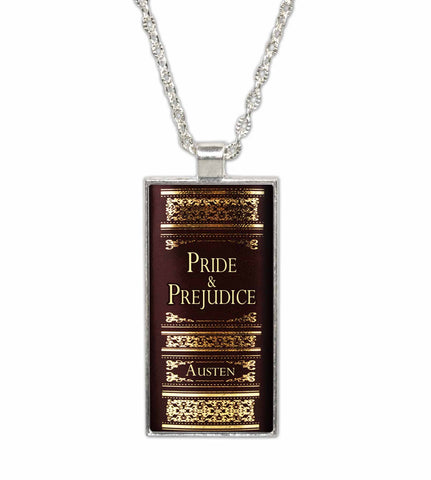 Jane Austen Pride and Prejudice Pendant Necklace