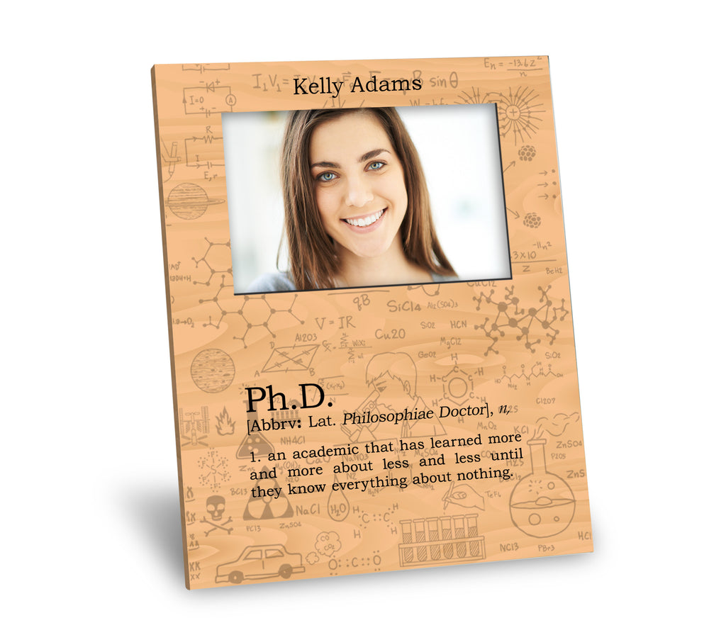 Ph.D. Definition Picture Frame – Neurons Not Included™