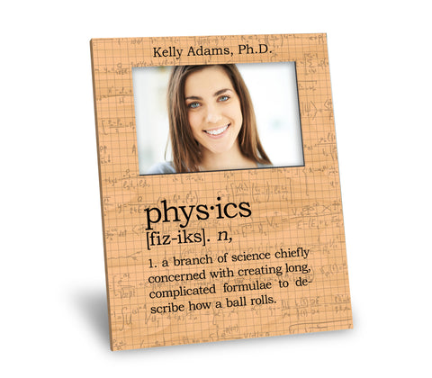 Physics Definition Picture Frame