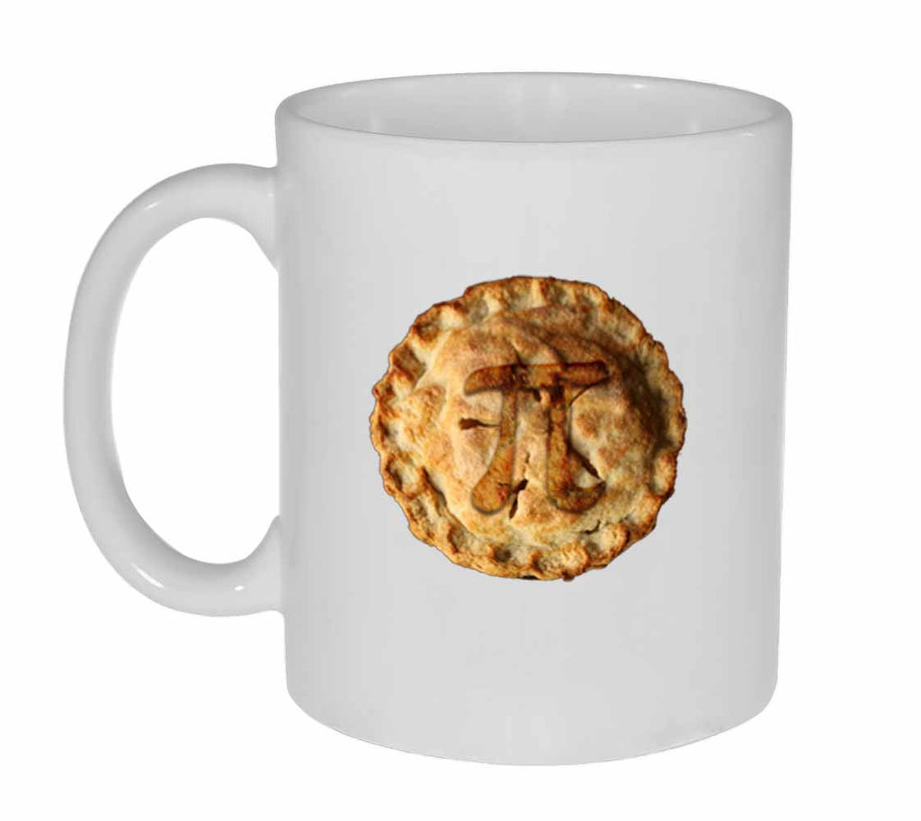 Pi on a Pie Mathematical Coffee or Tea Mug