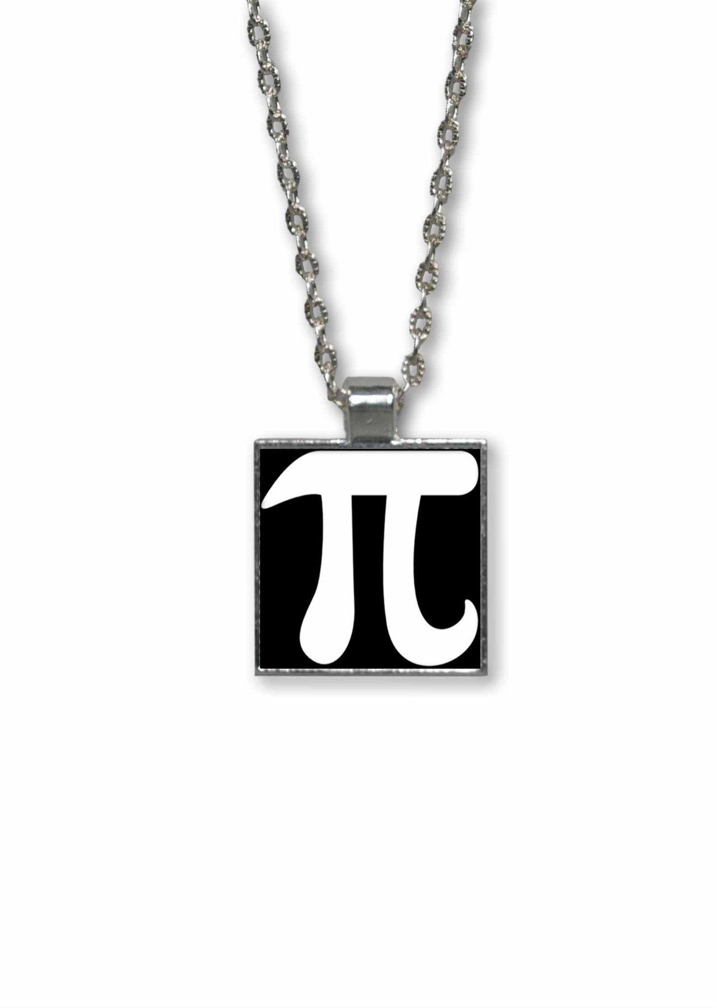 Pi Symbol R Pendant Necklace Math Jewelry Neurons Not Included
