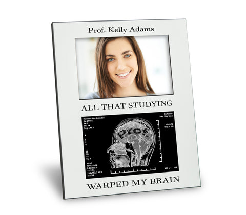 Professor Picture Frame - All That Studying Warped My Brain