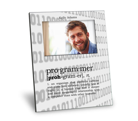 Programmer Definition Picture Frame