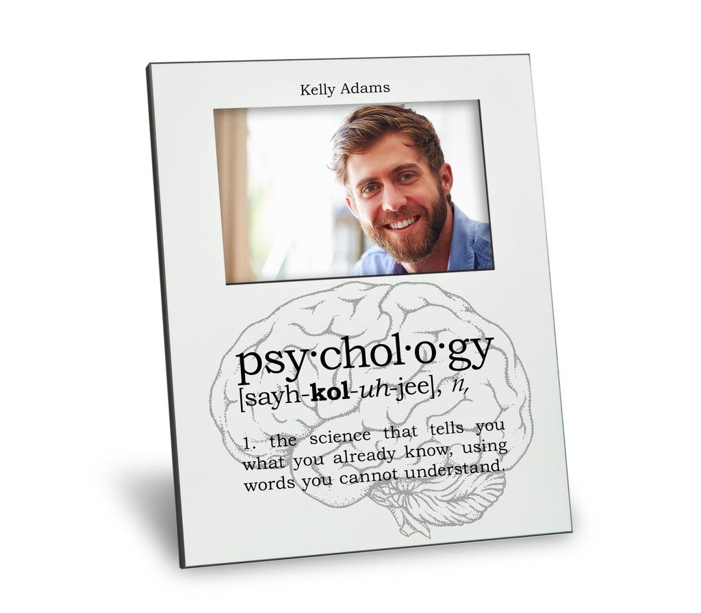 Psychology Definition Picture Frame – Neurons Not Included™