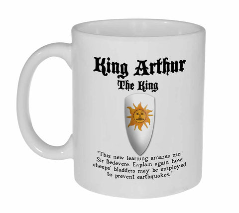 King Arthur Coffee or Tea Mug - Monty Python and the Holy Grail
