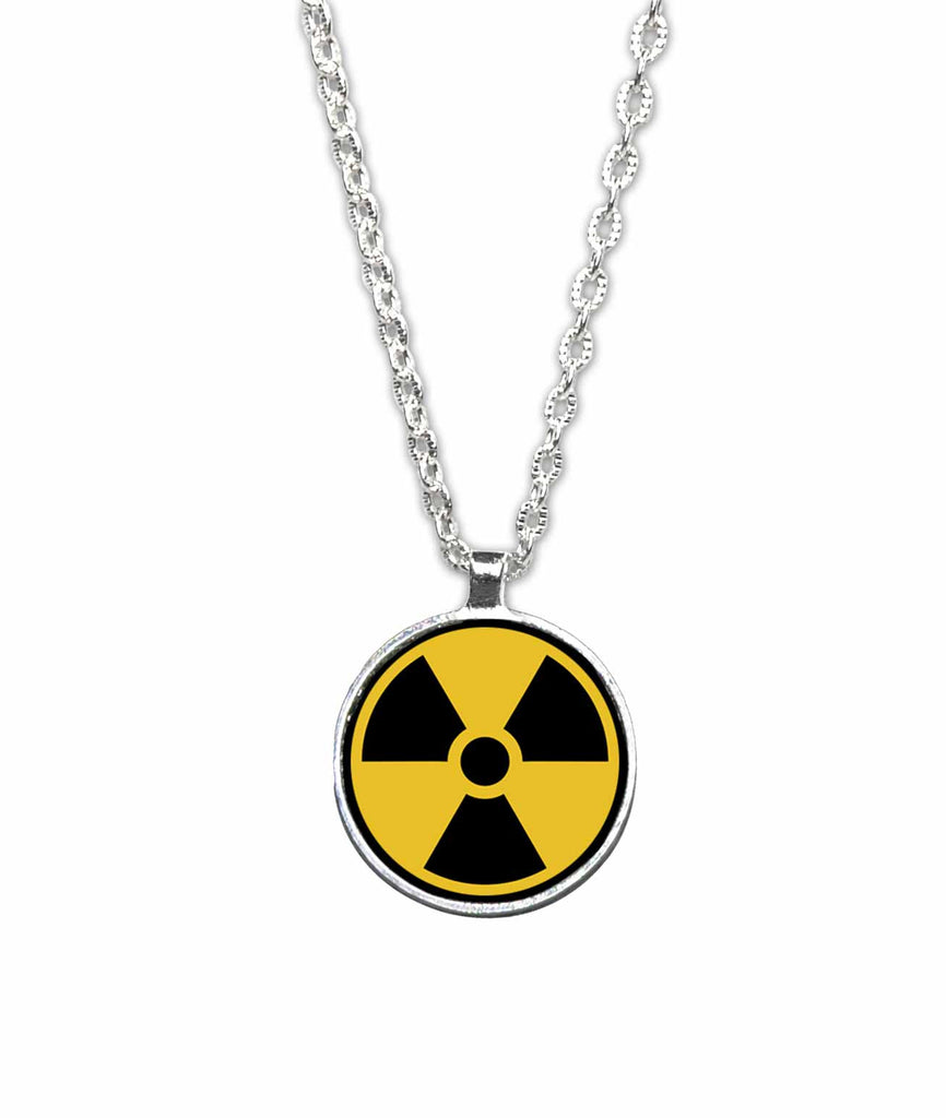 Radiation Symbol Pendant Necklace