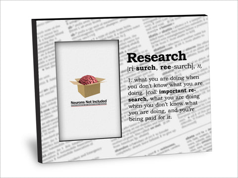 Research Definition Picture Frame