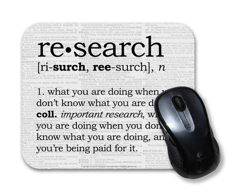 Research Definition Mouse Pad