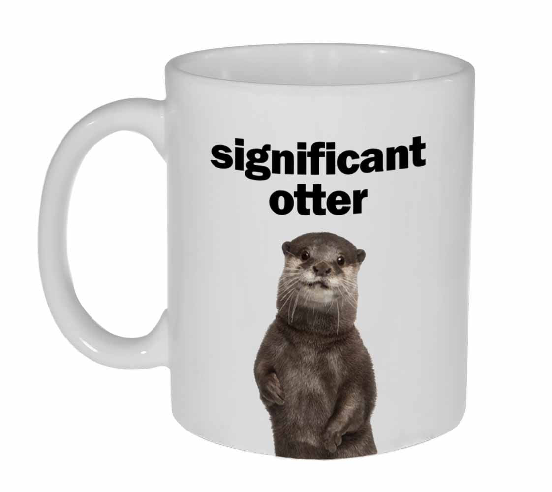 Significant Otter Funny Valentine S Day Gift Coffee Or Tea Mug
