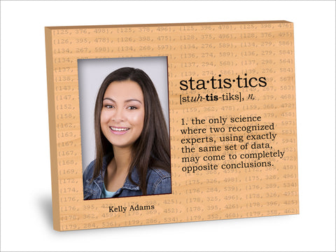 Statistics Definition Picture Frame