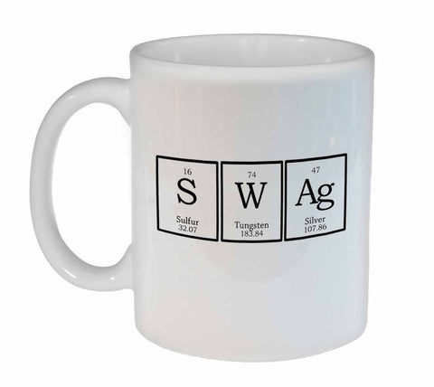 Swag Periodic Table of Elements Chemistry Coffee or Tea Mug